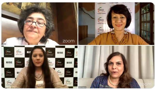 Legal Luminary, Zia Mody recounts her journey in a candid conversation with FICCI FLO