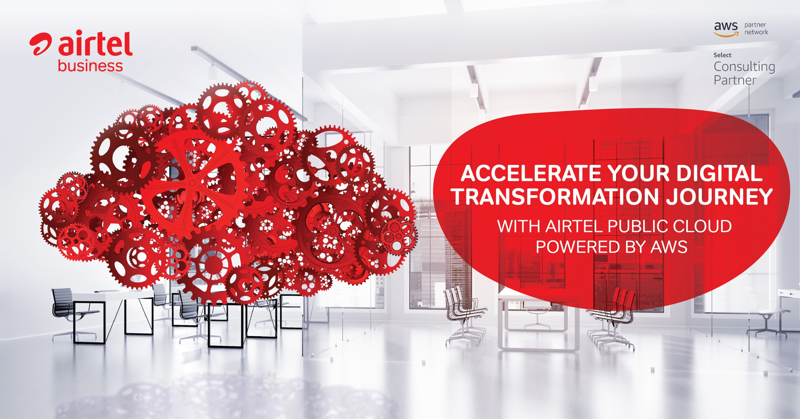 AIRTEL AND AWS JOIN HANDS TO ACCELERATE DIGITAL TRANSFORMATION OF BUSINESSES IN INDIA