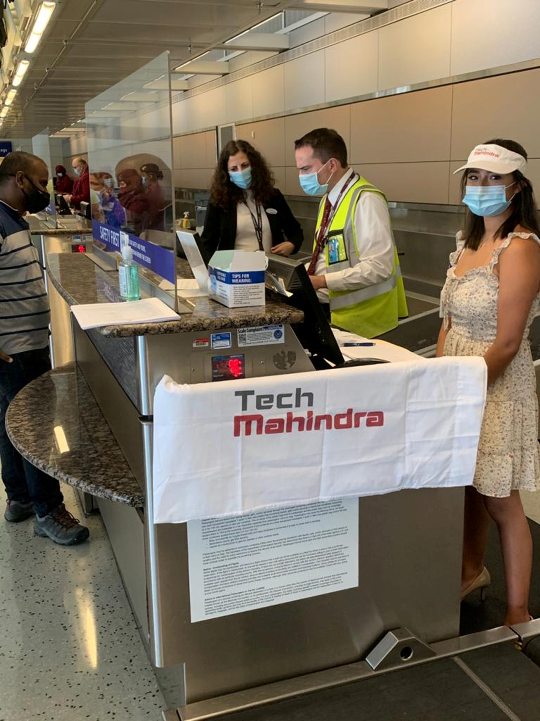 Tech Mahindra Facilitates Return of Over 210 Employees and their Dependents from the US