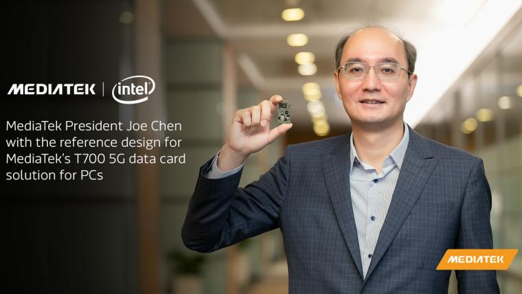 MediaTek and Intel Advance Partnership to Bring 5G to Next Generation of PCs