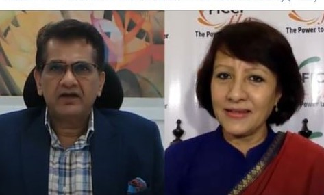 Focus on Education & Entrepreneurship to make India a Superpower: Amitabh Kant on Role of Women Entrepreneurs for an  Aspirational India