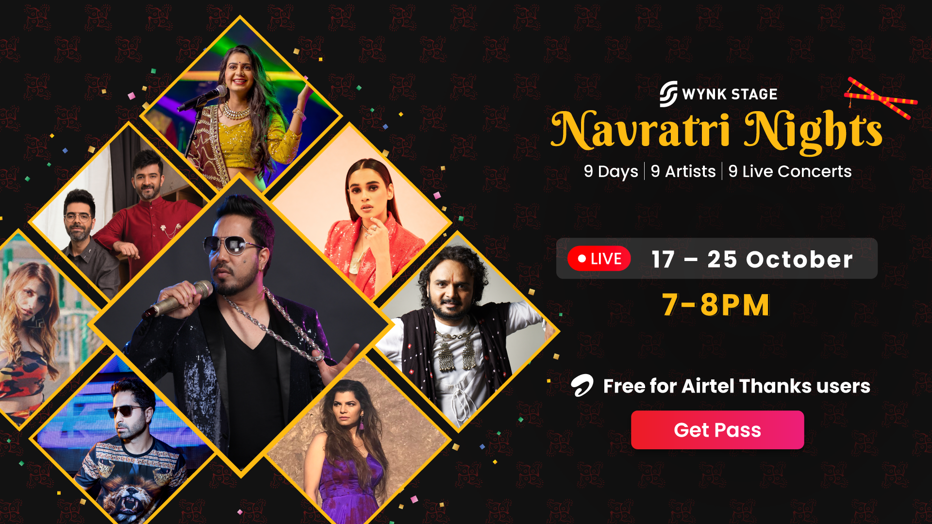 Wynk Music announces first of its kind 'Navratri Nights' Online Concerts