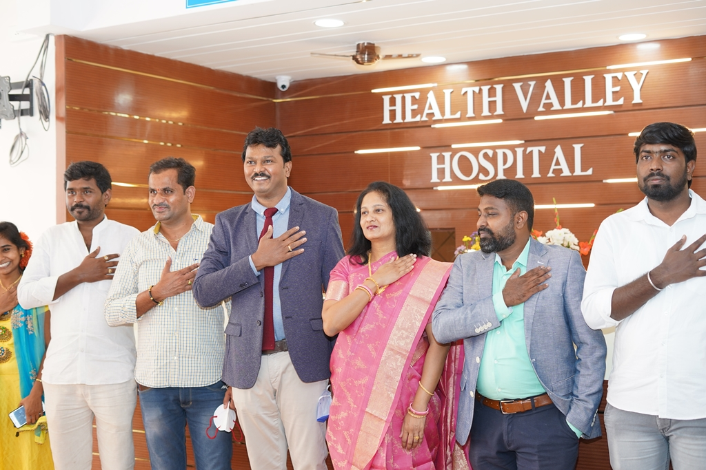 Health Minister Inaugurates Health Valley Hospital