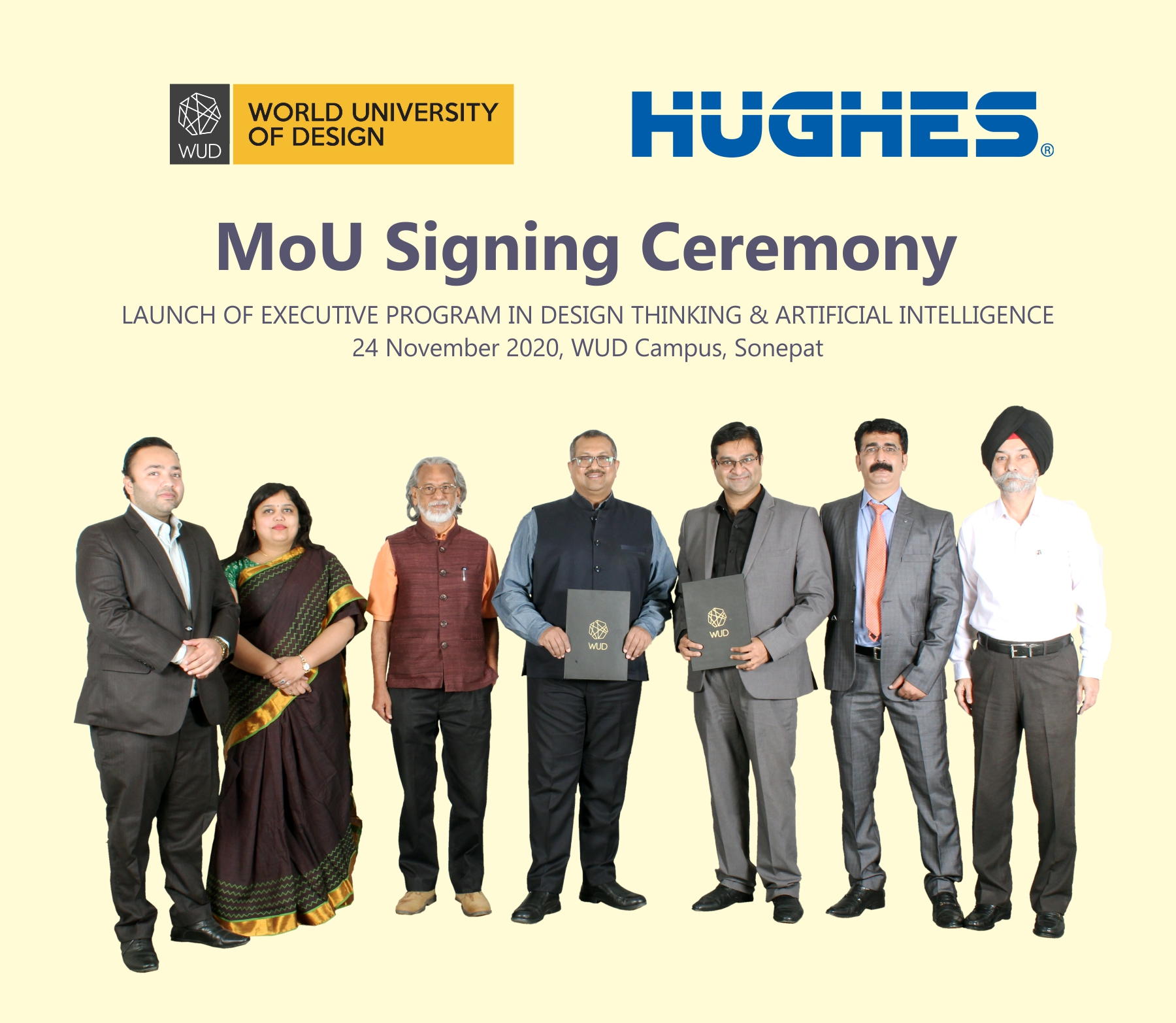 World University of Design and Hughes Global Education signs an Agreement of Cooperation to offer Design + Management Programs