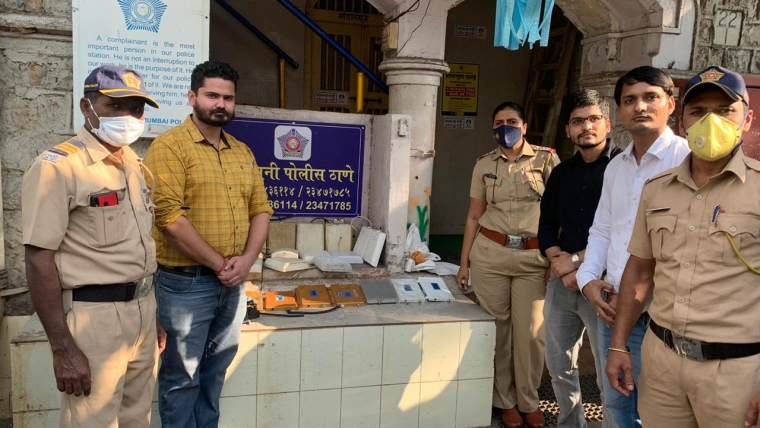 Department of Telecom conducts drive against Illegal Mobile Signal Boosters in Mumbai