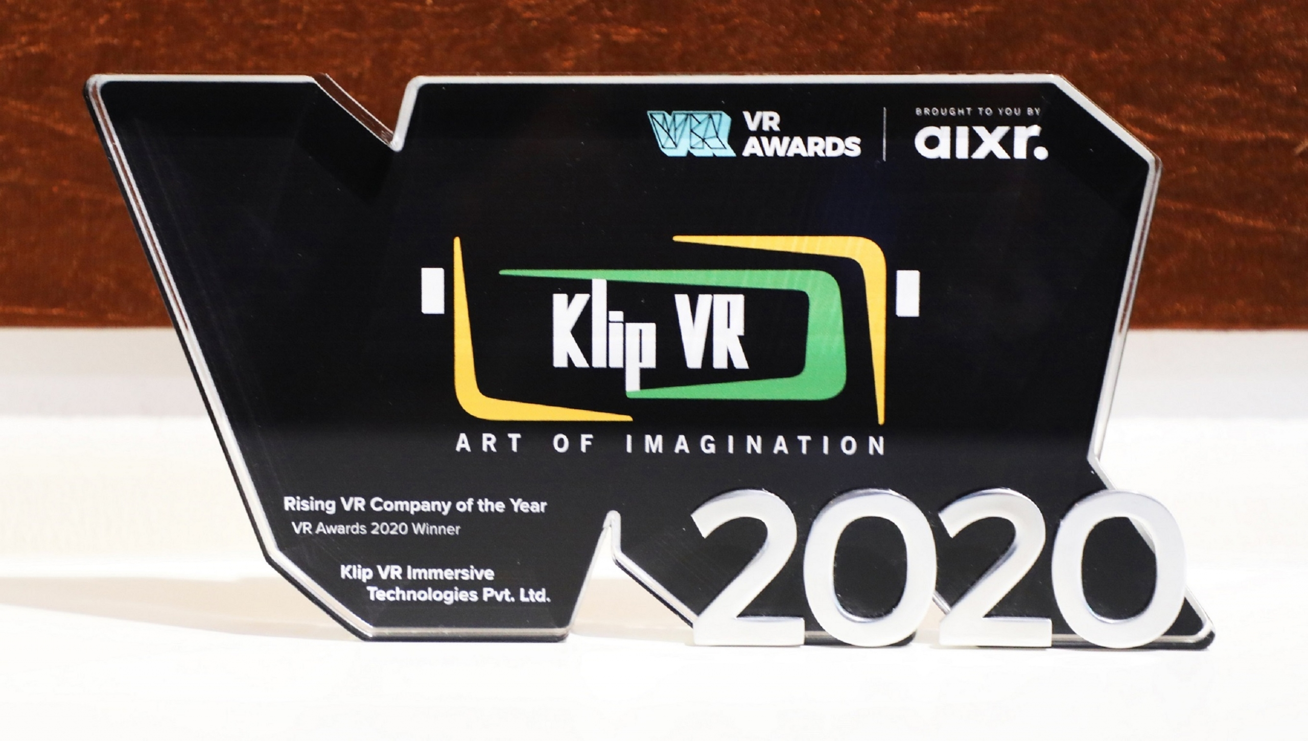 Klip VR becomes the First Indian EdTech Company to win Global 'VR Awards'