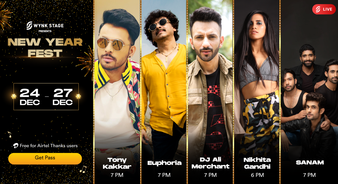 The biggest New Year party is coming to Wynk Music