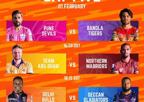 FAIRPLAY NEWS – Day Fifth: Group Stage Conclusion of Abu Dhabi T10 League
