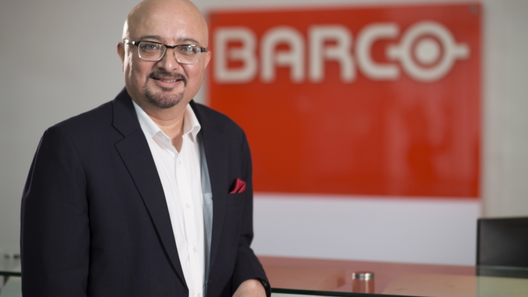 Barco India Focuses on Software and R&D to Enable Digital Transformation