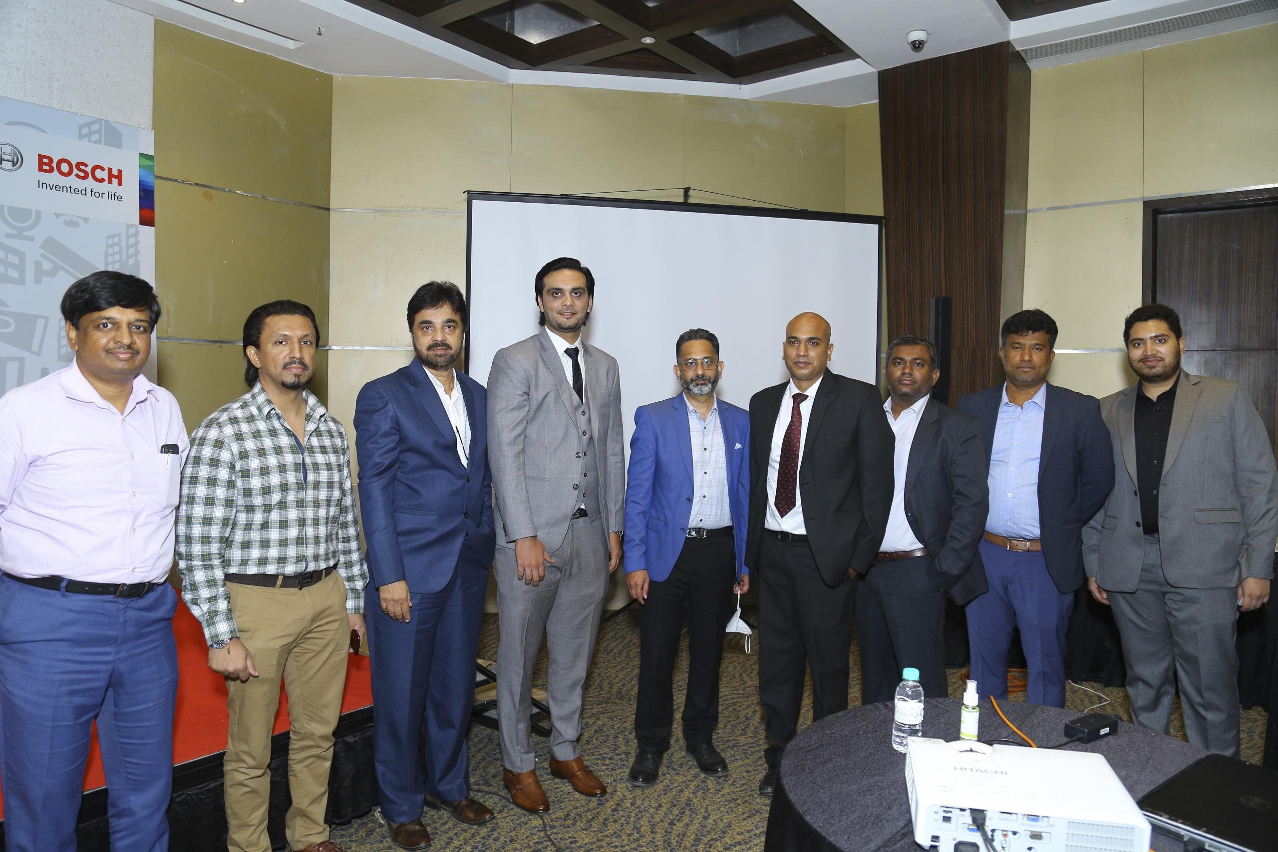 Shah Global Organised Bosch Business Meet in Hyderabad