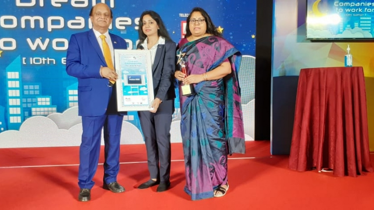 """Hyderabad based Pactera EDGE India Pvt Ltd. wins the prestigious Award – """"Dream Place to Work For"""""""