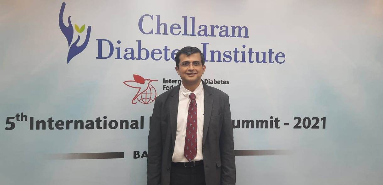 Chellaram's 5th International Diabetes Summit overviewed on the growing menace of Diabetes and its complications.