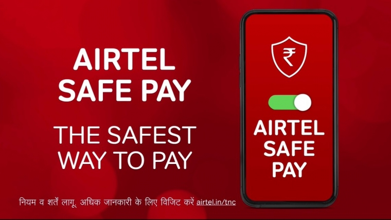 Launch of 'Airtel Safe Pay' – India's safest way to pay digitally