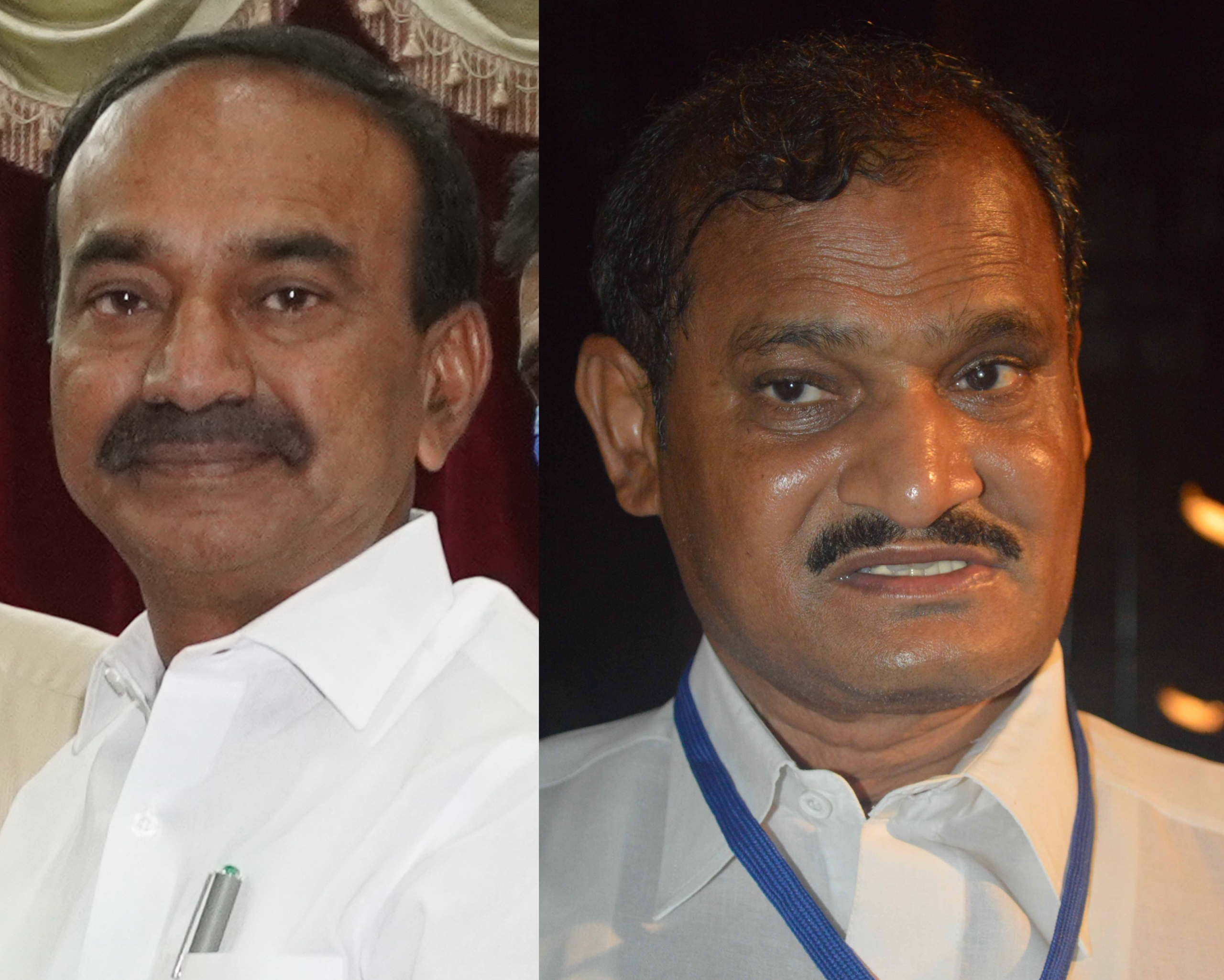 Former Minister of Telangana Etela Rajender's planned entry into BJP Party opposed