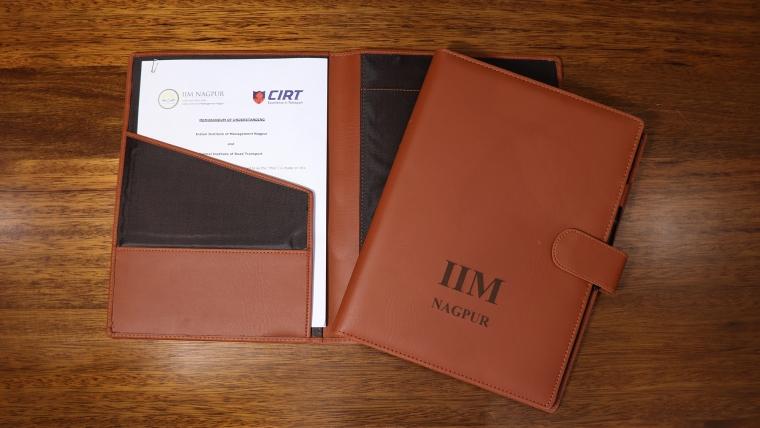 IIM Nagpur and CIRT Pune Sign Memorandum of Understanding