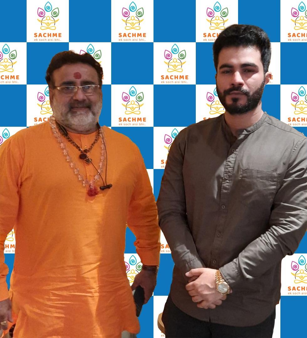 Highly influential Shree Shivyogi Yuktanandji Maharaj extends his support to the Hindu recreational venture: SACHME