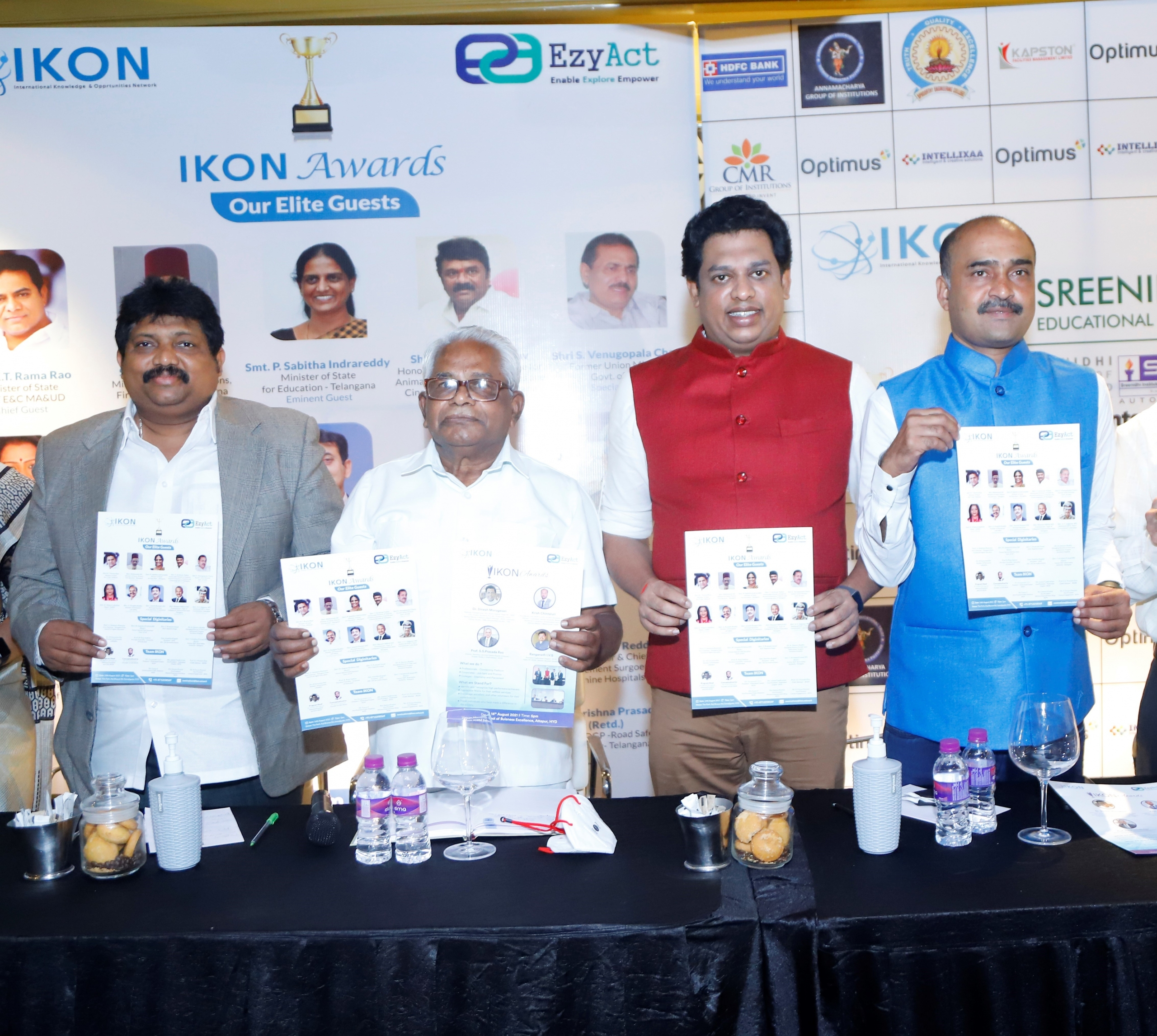 Sreenidhi Education Group presents IKON Awards Nite to be held on 14th August