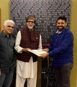 Amitabh-Bachchan-with-Keyur-Patel-and-Arun-Pandey